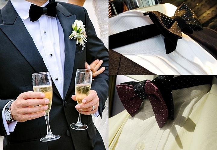 蝶ネクタイ結婚式