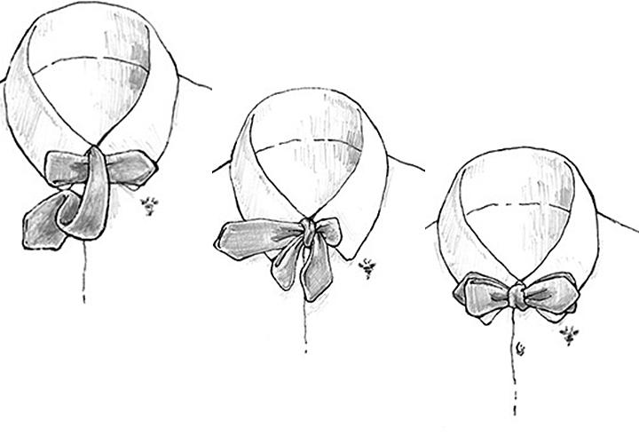 蝶ネクタイの結び方