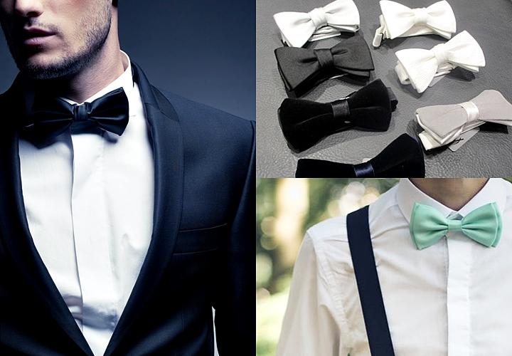 結婚式・パーティーのようなフォーマルな場、特別な日につける蝶ネクタイ