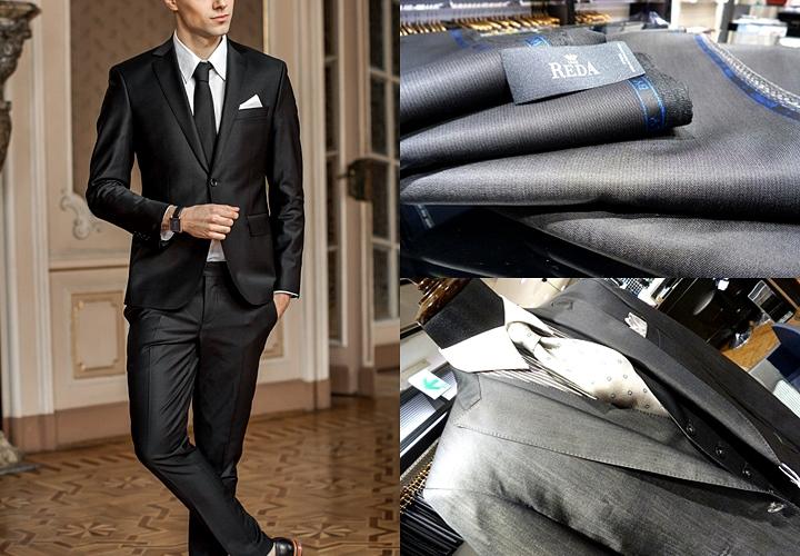 パーティー用のブラックスーツ