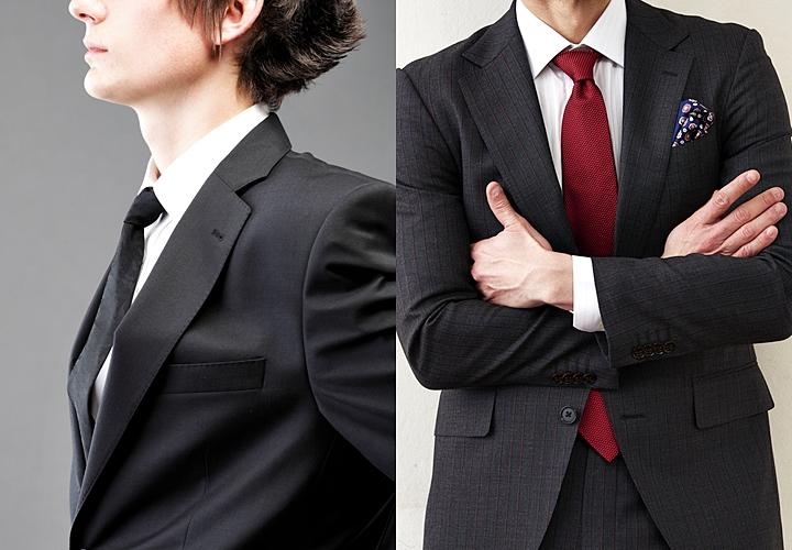 成人式におすすめのスーツカラー ブラックスタイル