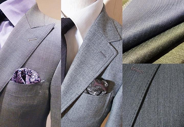 特別なスーツを着用したい方にオススメなのがオーダースーツ ピンチェック・シャークスキン・ヘリンボーン