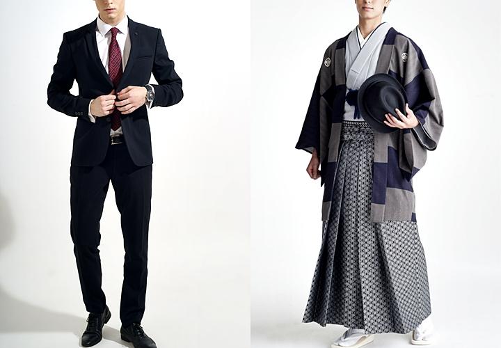成人式の男性衣装 スーツ・袴が一般的なスタイル