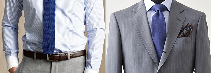 ネクタイの合わせ方