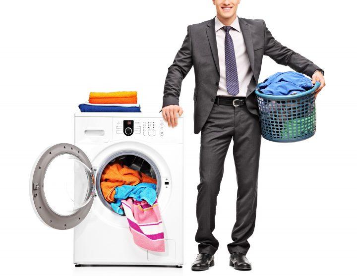 スーツがシワになる原因の1つ 洗濯機