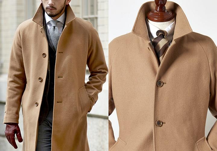 ステンカラーコートの特徴