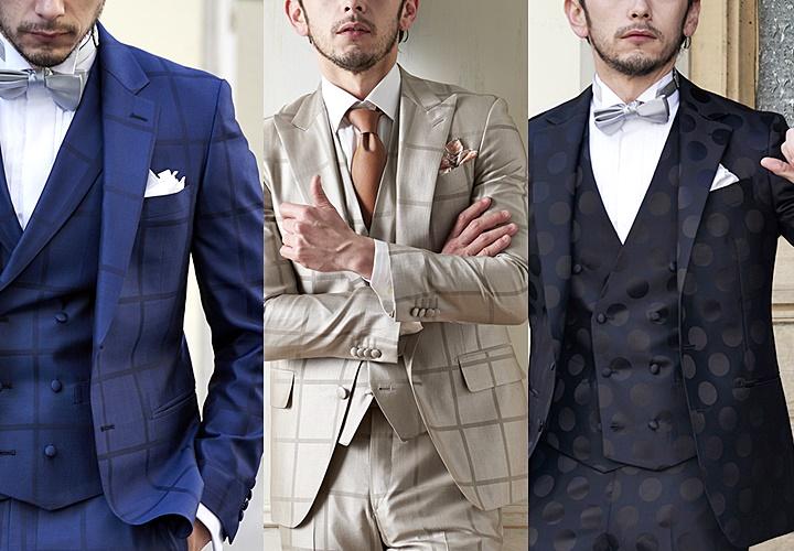 結婚式やパーティーで映える華やかなポケットチーフ