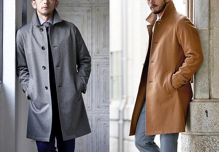 ビジネススーツに合わせるメンズコート 種類別で見る大人の着こなし
