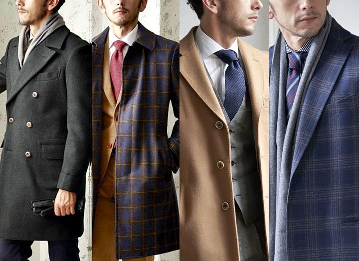 スーツに合わせるメンズコート!種類別で見る大人の着こなしコーデ