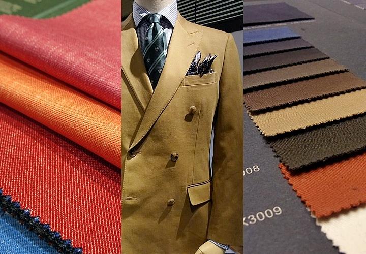 天然繊維 リネン(麻)・コットン(綿)の生地とスーツ
