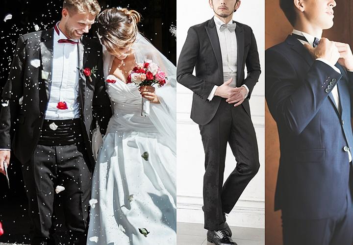 結婚式のスーツ