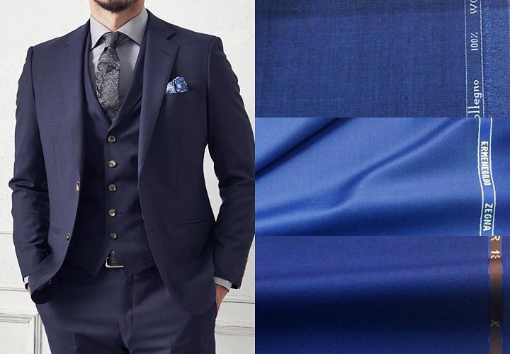 スーツの価値は、生地が細いほど高級