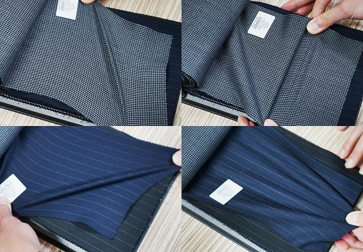 ストレッチの種類(タテ・ヨコ)・細身スーツ