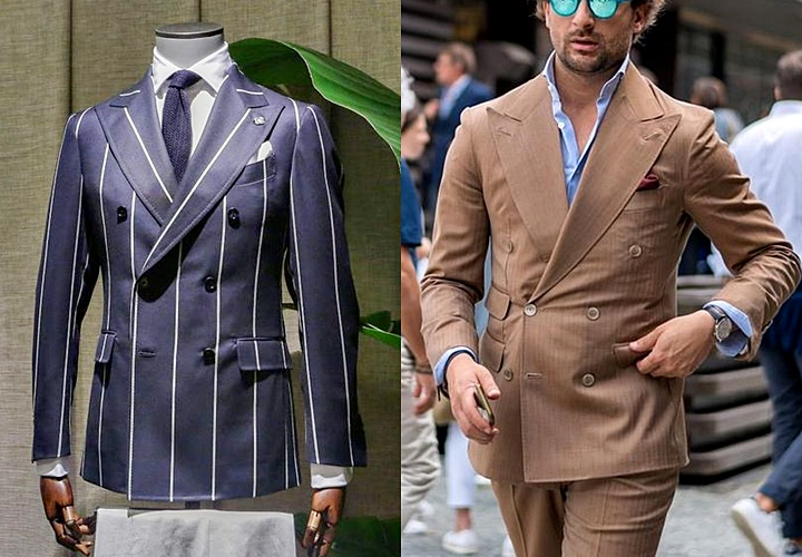 ピンストライプ・ペンシルストライプのスーツスタイル