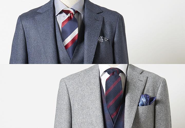 スーツのVゾーン