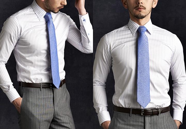 オーダーシャツの魅力!自分の身体に合わせた、自分好みのシャツ