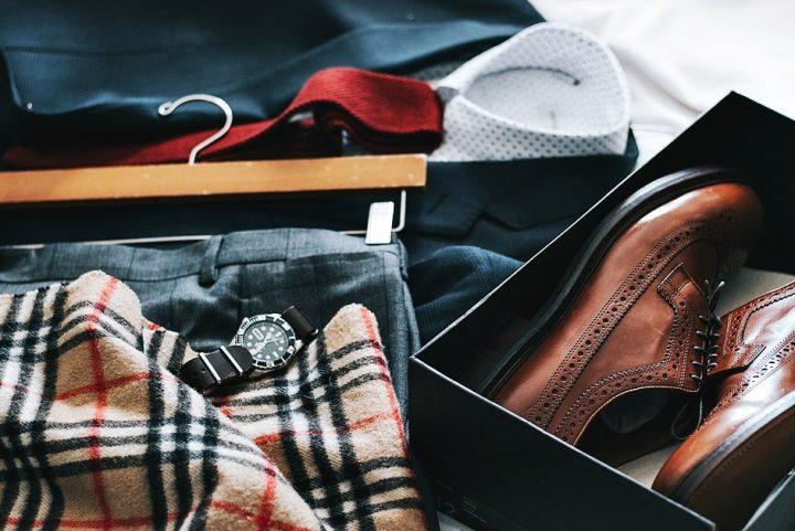 スーツの収納イメージ