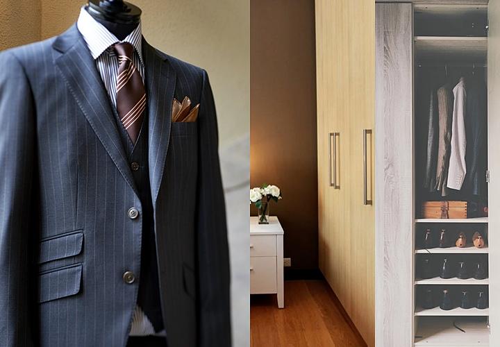 スーツの収納・クローゼット