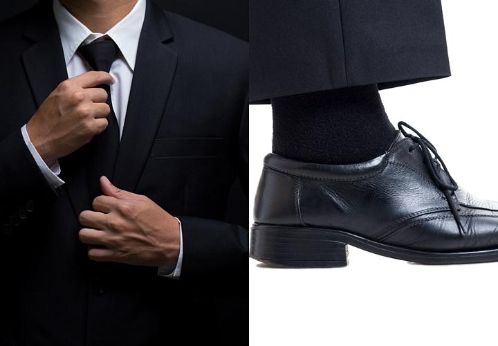 葬式,葬儀,告別式でのスーツ