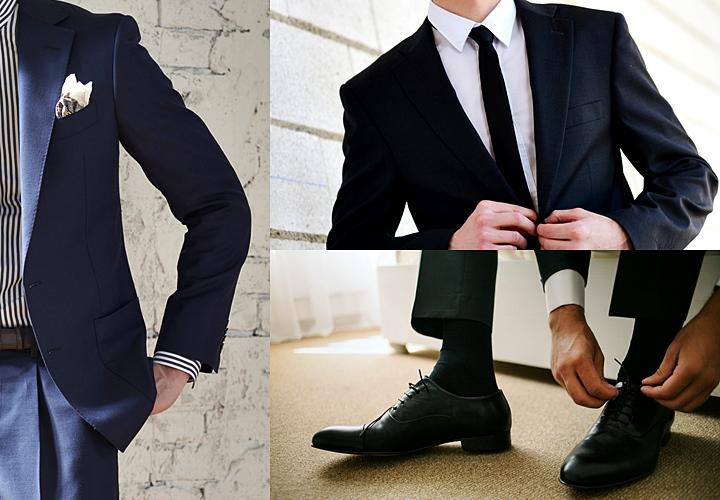 礼服の一つ・ダークスーツとブラックスーツ