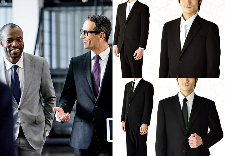 一般的なブラックスーツと礼服(喪服)との違いとは