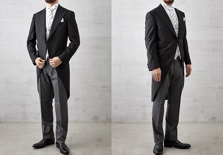 昼の礼服・モーニングコートスタイル