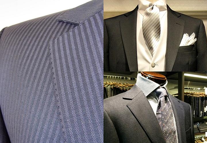 略礼服 襟のステッチの違い