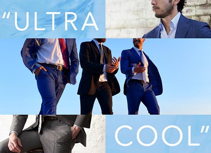 クールビズは夏用スーツで快適に!~ウルトラクールなジャケットとスラックスとは?~