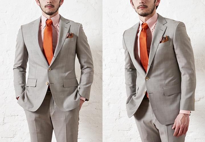 """80175f3fb5d9b カジュアルな印象の""""チェック柄""""は、ビジネスシーンにおいて敬遠されがちな柄の一つ。ですが、スーツのトレンドとして紹介される""""グレンチェック""""などは、まさに年齢に  ..."""