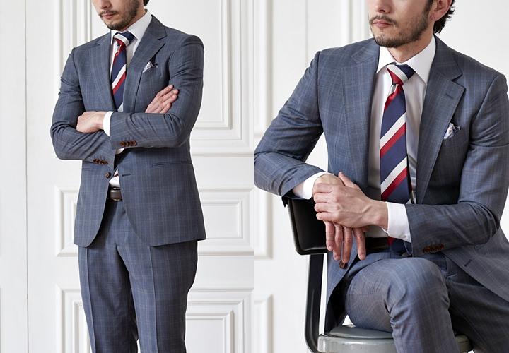 00fa66a629dc7 男性の品格を引き立たせる着こなしとして人気があります。近年、英国紳士を思わせるデザインが流行り、スーツでのオシャレのバリエーションを広げたい方にもおすすめ  ...