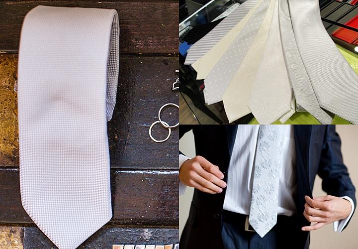 結婚式の服装、ネクタイ・チーフ・靴