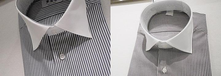結婚式の服装、シャツの襟はレギュラーカラーやワイドカラー