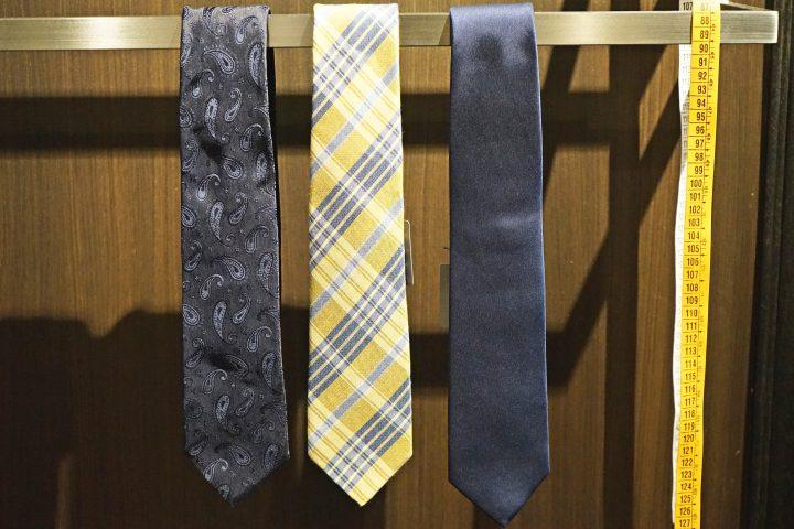 ネクタイの収納・吊るしのコツ