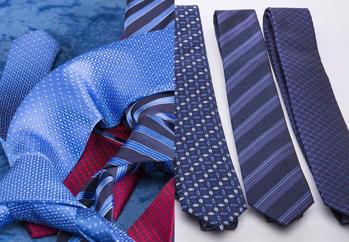 ネクタイ収納3つの方法・結び目はといておく