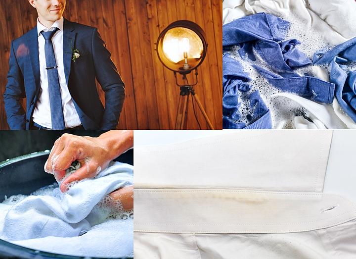 ワイシャツの襟汚れ・黄ばみ・黒ずみの落とし方と予防方法