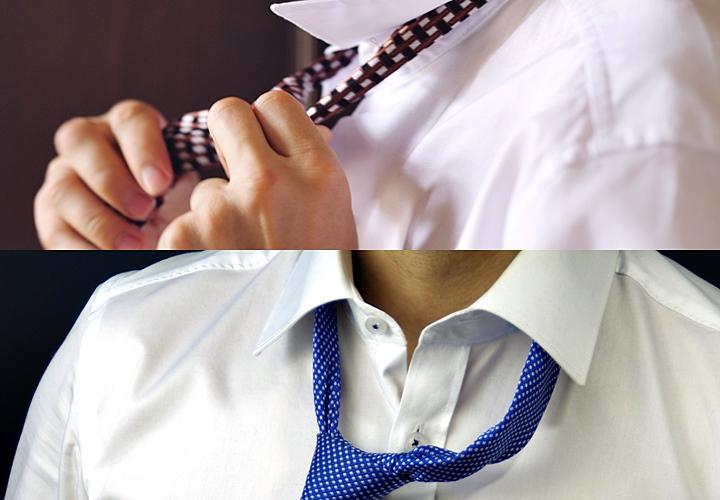 ネクタイの解き方