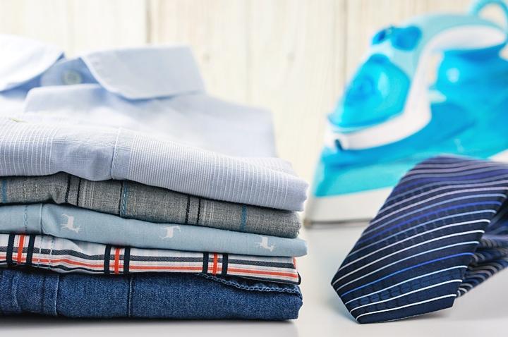 ネクタイの洗濯・アイロン