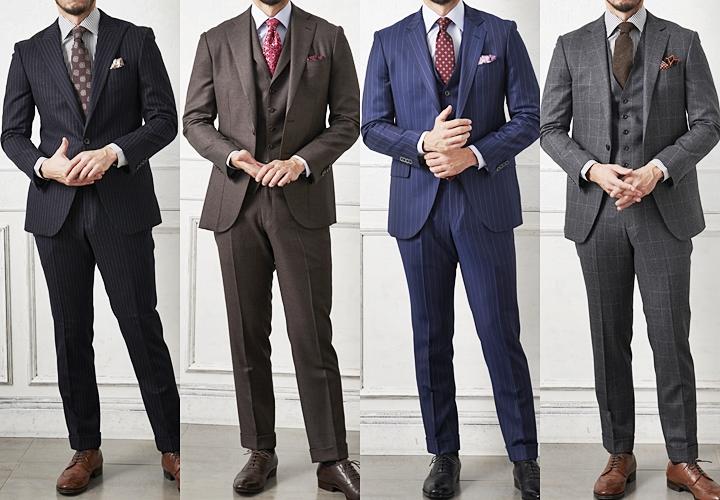 最近では安くオーダーできるスーツ