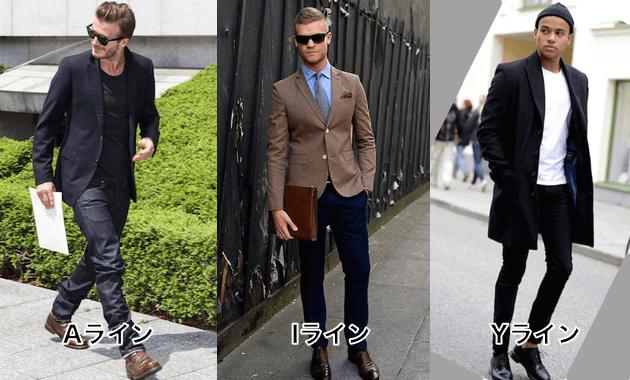 ファッション用語・Aライン・Iライン