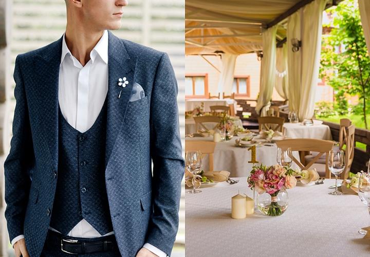 会場に合わせた結婚式の二次会の服装 カジュアル:カジュアルダウンした服装、スーツ・ジャケットが基本