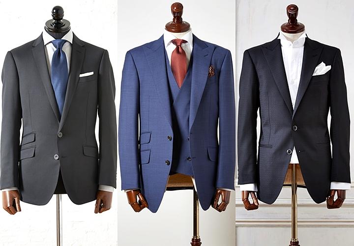 """4e23443d990b4 スーツの柄は、基本的には""""無地""""。ビジネスシーンでは、""""ストライプ""""や""""チェック""""などのスーツも人気ですが、入社式ではシンプルなスーツで、周りの雰囲気などを見  ..."""