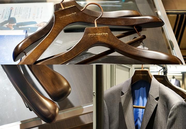 スーツのお手入れ方法,スーツ専用のハンガー