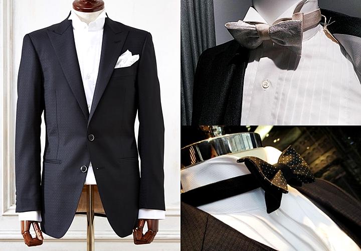 フォーマルシーン,襟型,ウィングカラーシャツ