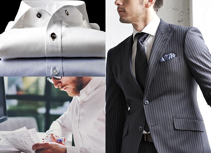 ビジネスシャツの選び方~襟型(デザイン)の種類とシーン別の着こなし術