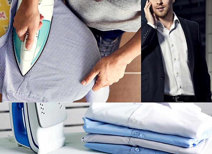 ワイシャツのアイロン掛けの手順とコツ