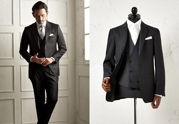 03b19a149c55e ◇2◇ ネイビースーツスタイル年齢を問わず人気のネイビースーツには、同色系のネクタイと合わせ統一感のあるスタイルがオススメ。白シャツとの相性も良く、落ち着いた  ...