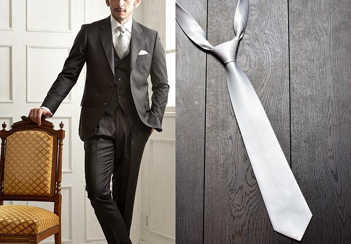 結婚式のネクタイコーディネートのおすすめ6選|色・柄の選び方