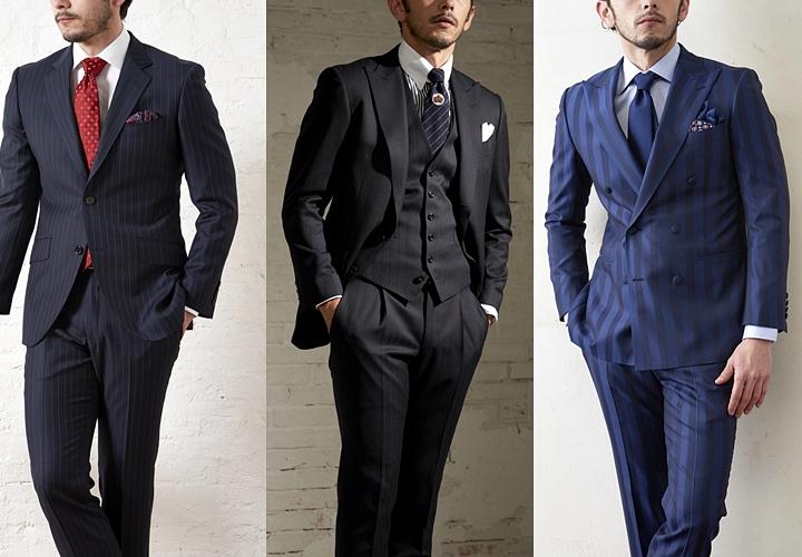 ストライプスーツの魅力と着こなし方 シーン別 結婚式 就活 のマナー