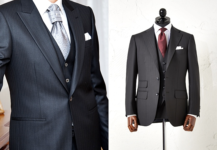 ストライプスーツの魅力と着こなし方~シーン別(結婚式・就活)の