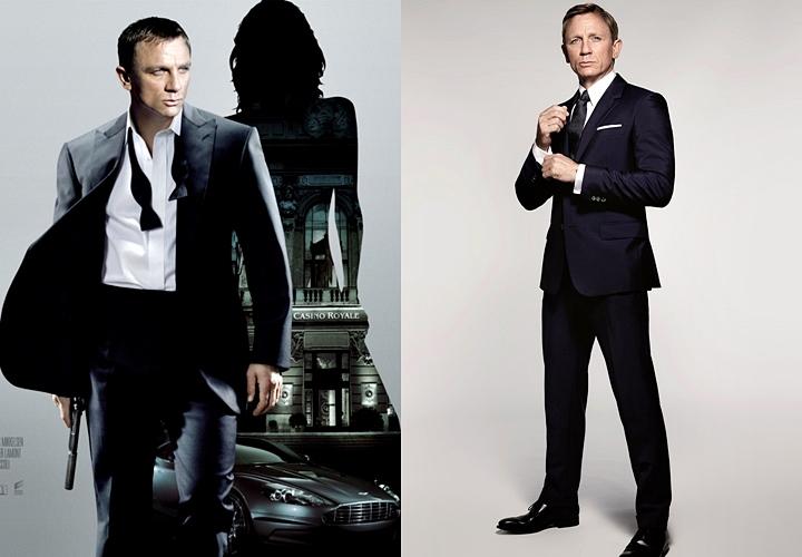 映画 007のスーツスタイル